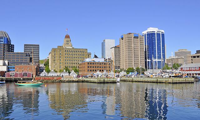 Halifax Walk and Ferry Rides