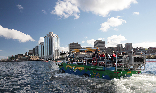 Halifax City and Harbour Duck Tour