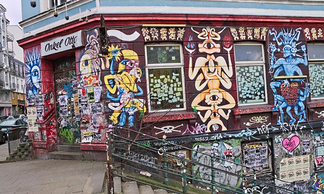 The Alternative Bike Tour - Hamburg and Street Art