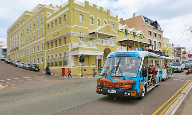 Hamilton Tram Tour and Ocean Discovery Center