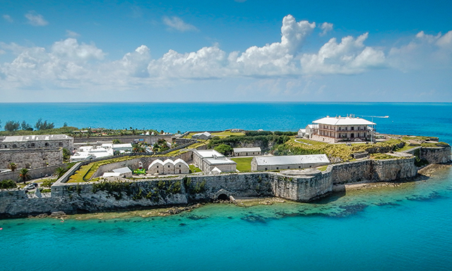 Quintessential Island Drive and the Royal Naval Dockyard