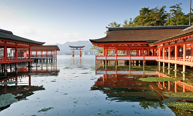 Miyajima Island with Itsukushima Shrine