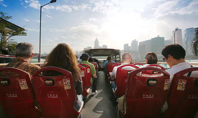 Hop On, Hop Off Hong Kong City Tour
