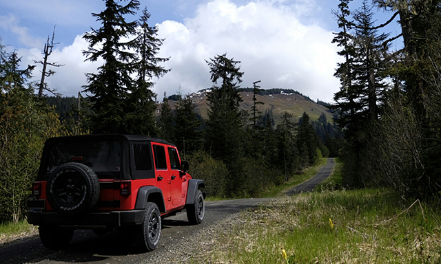 Back Country Jeep Adventure