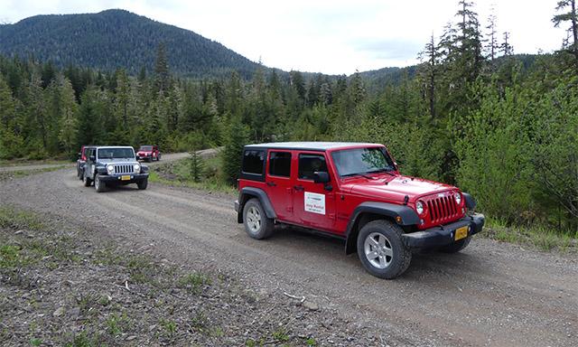 Chichagof Island Jeep Expedition