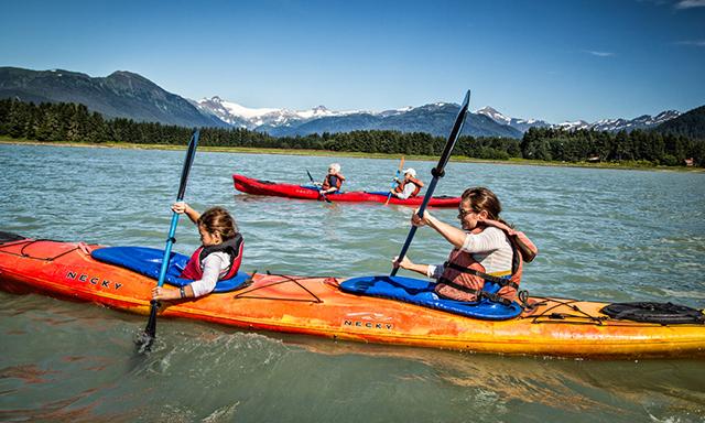 Off-Peak Special: Icy Strait Point Kayak Adventure