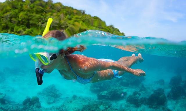 Schooner & Snorkeling at Ilha Grande