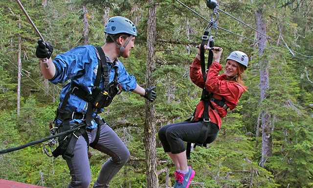 Alpine Zipline Adventure