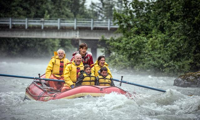 Mendenhall Glacier River Rafting