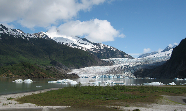 Mendenhall Glacier and Salmon Bake