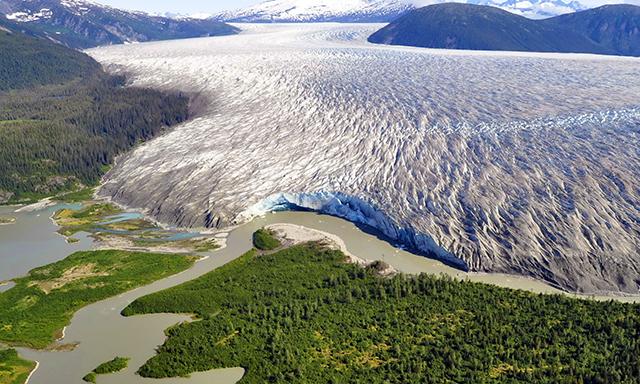Taku Glacier By Helicopter
