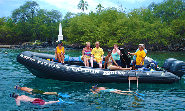 Captain Zodiac Raft, Dolphin & Snorkel Adventure