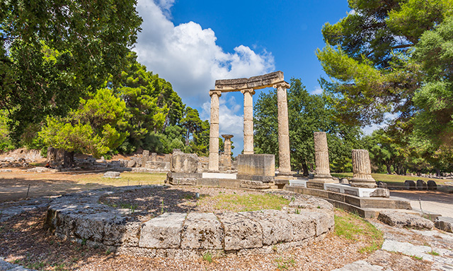 Accessible Ancient Olympia and Greek Olive Farm