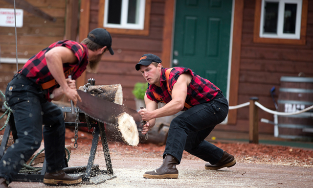 Alaska's First City Highlights & Lumberjack Show