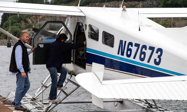 Misty Fjords Boat & Floatplane Wilderness Adventure