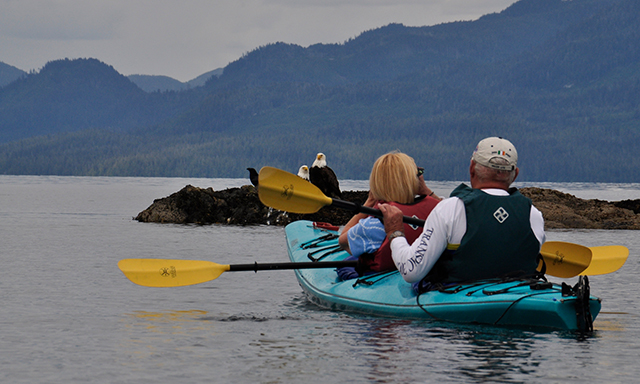 Tatoosh Islands Wilderness Kayak Adventure