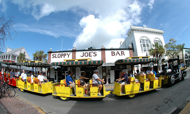 Hop-On-Hop-Off Conch Tour Train and Key West Aquarium