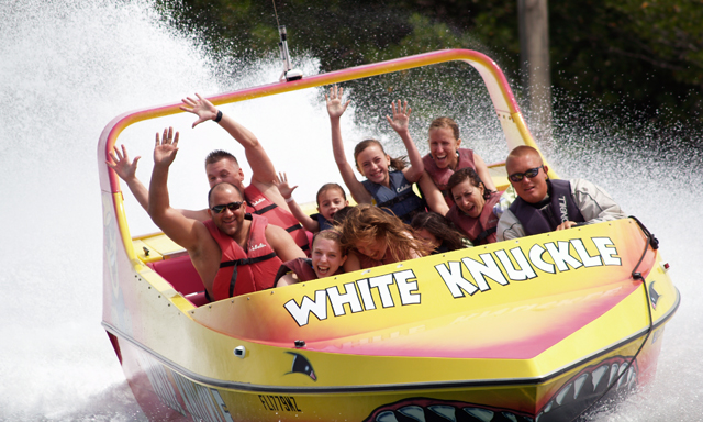 White Knuckle Thrill Boat Ride