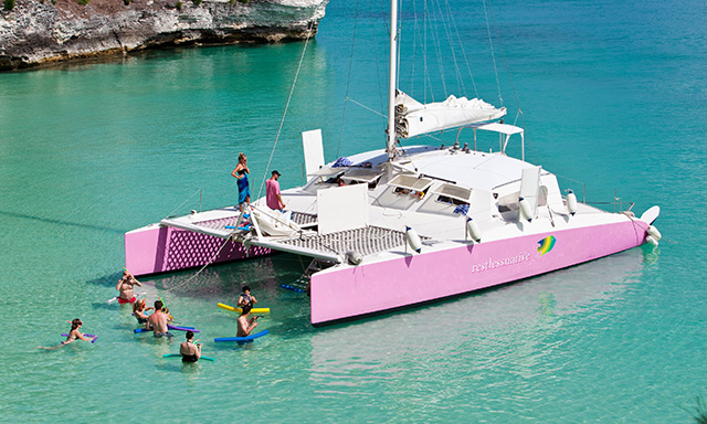 Bermuda Catamaran Cruise, Snorkel  and Swim