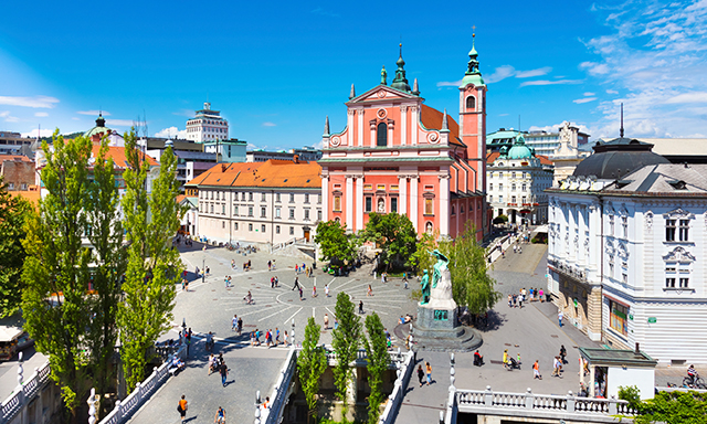 Walking Tour of Ljubljana - The Capital City