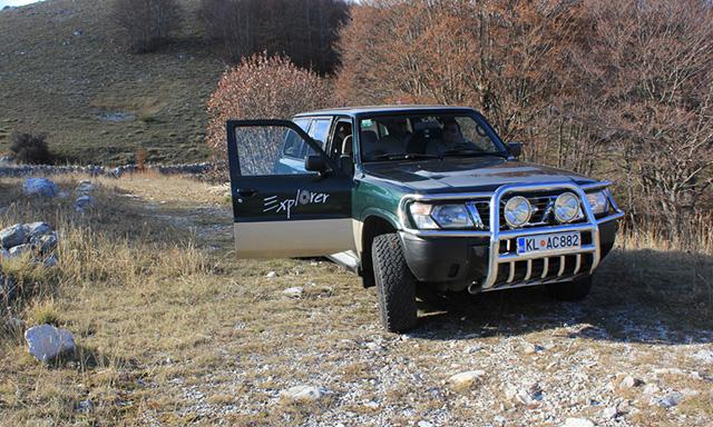4X4 in Lovcen National Park