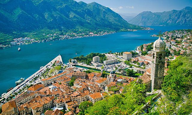 Baroque Charm and the Bay of Kotor