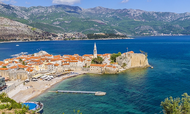 Budva Riviera and Beach Break