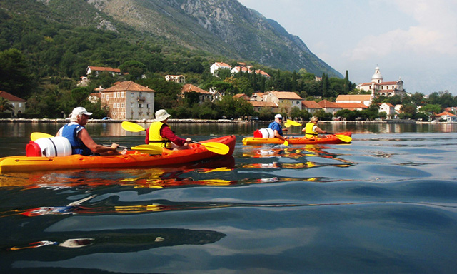 Sea Kayaking Kotor Bay