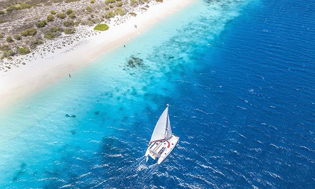 Catamaran Scenic Sail & Swim in the Bonaire Marine Park