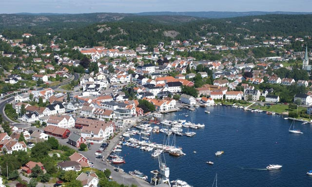 Lillesand by Land and by Sea
