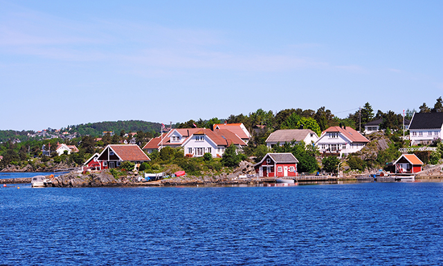 Ny Hellesund Boat Cruise and Hike
