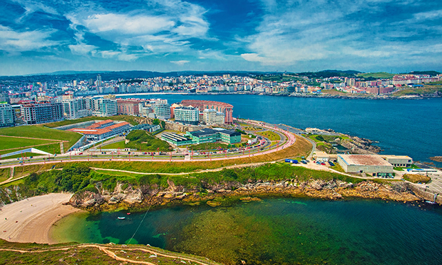 Explore La Coruna by Bike