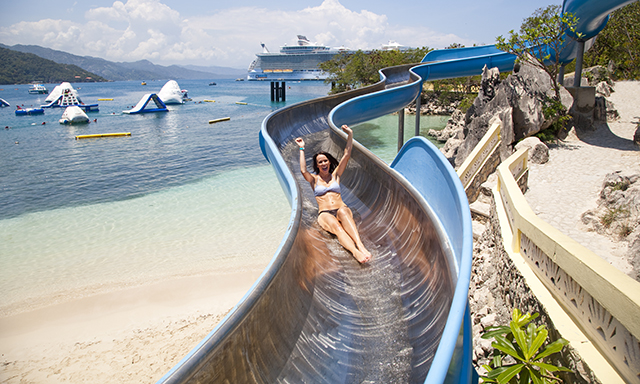 Dragon's Splash Waterslide