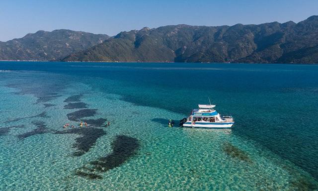 A Sandbar Island Getaway
