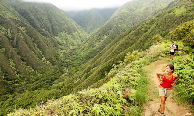 Iao Valley and Maui Tropical Plantation