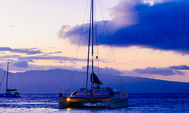 Maui Catamaran Sunset Sail