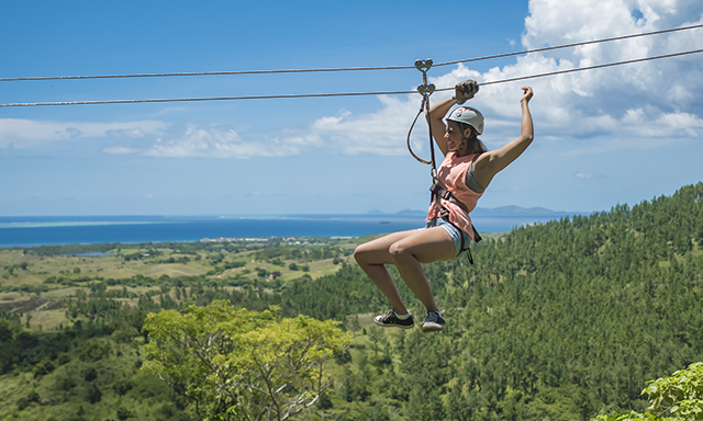 Jungle Safari Giant Zipline Tour