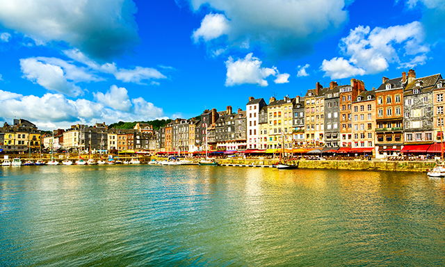 Honfleur and Deauville