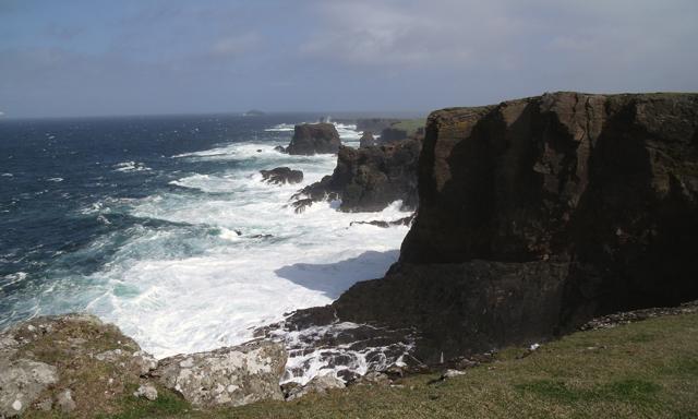 North Shetland & Eshaness Cliffs