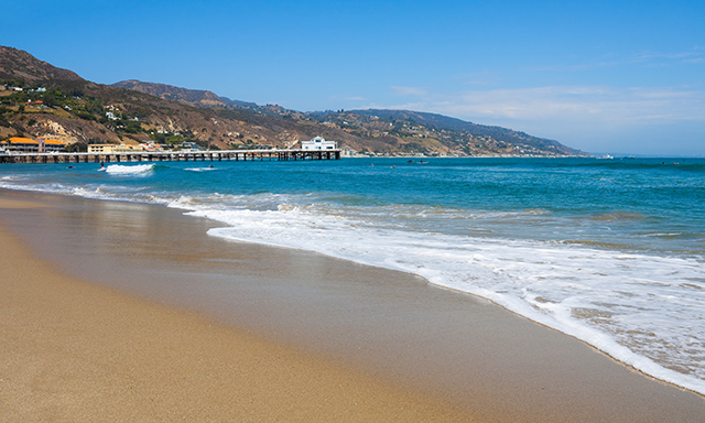 Beachfront Santa Monica, Malibu & Beverly Hills with airport drop-off