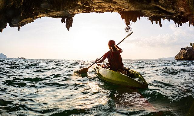 Kayaking in Malaga