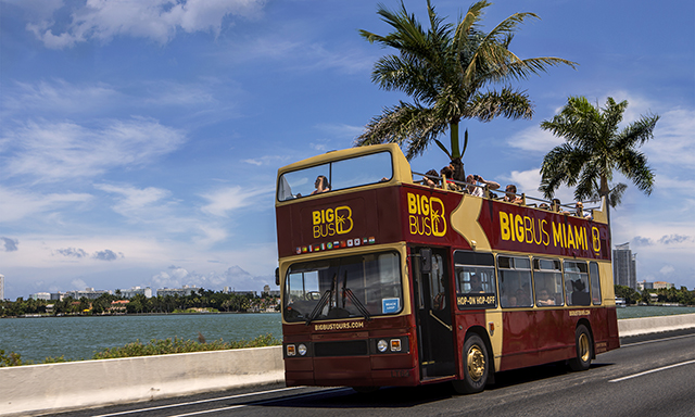 Hop On, Hop Off Miami City Tour with Airport Drop-Off (MIA)