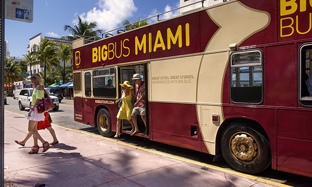 Hop On, Hop Off Miami City Tour with Airport Drop-Off (FLL)