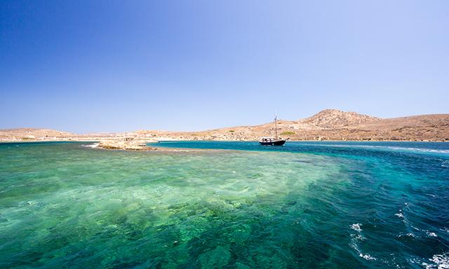Cruise To Rhenia Island
