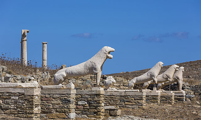 Ancient Delos and Mosaic Lessons