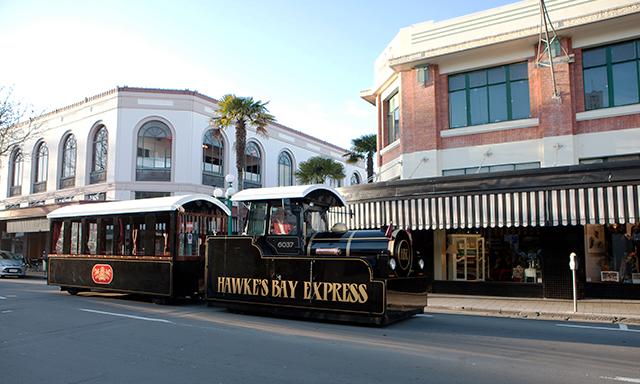Hawkes Bay Express Tour