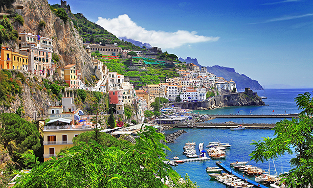 Amalfi Coast & Pompeii by Land and Sea