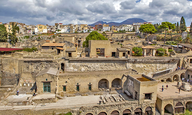 Accessible Herculaneum Ruins and Salerno Highlights