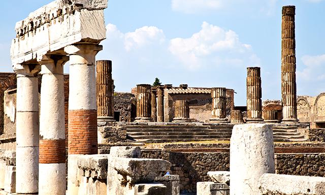 Excursion por Pompeya