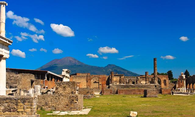 Mt. Vesuvius & Pompeii Hike